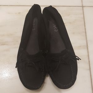 🎉2 for 10🎉 Black suede moccasins